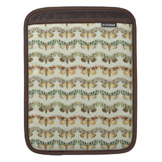 Vintage French Moths iPad Sleeves