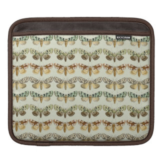 Vintage French Moths Sleeves For iPads