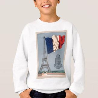 Vintage French National Flag & Eiffel Tower Sweatshirt