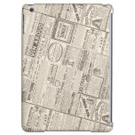 Vintage French Newspaper Ads Products for Women Cover For iPad Air