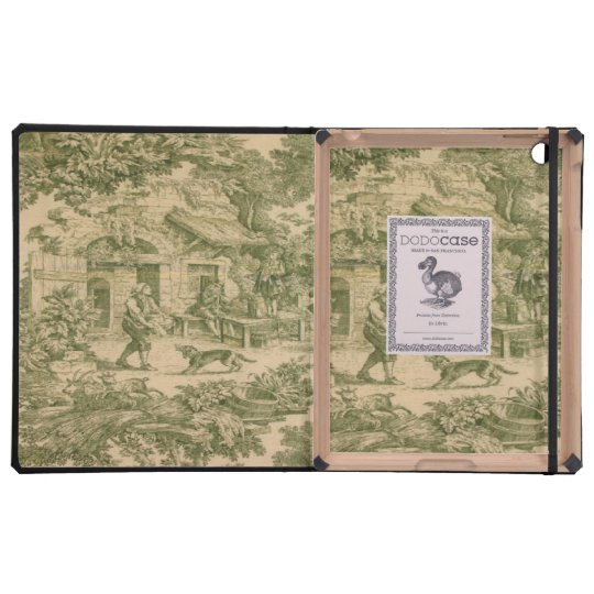 Vintage French Paisley DoDo iPad 2/3 Case iPad Folio Cases