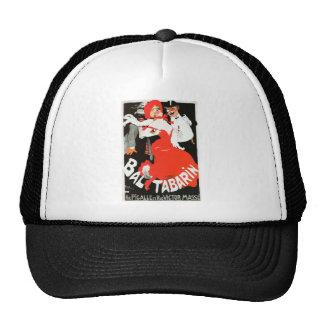 Vintage French Paris night life cabaret Bal Trucker Hat
