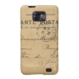 Vintage French Post Card Samsung Galaxy S2 Cover