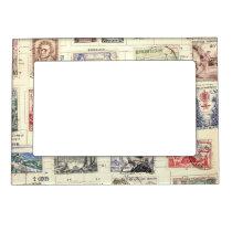 Vintage French Postage Magnetic Frame
