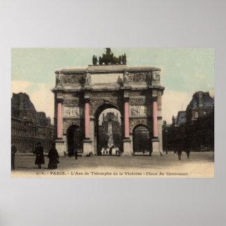 Vintage French Poster - L'Arc de Triomphe