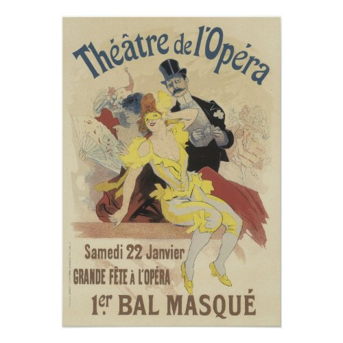 Vintage French Posters - l'Opera posters