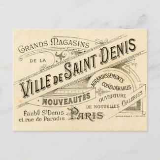 Vintage French Publicity Postcards