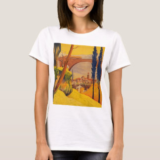 Vintage French Railroad Travel T-Shirt