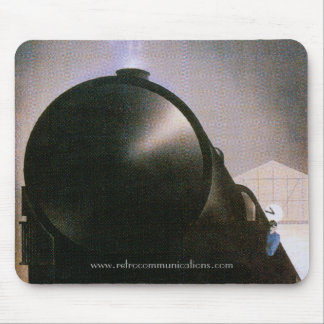Vintage French Railway Poster Mousepad