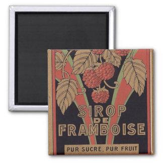 Vintage French Raspberries Magnet