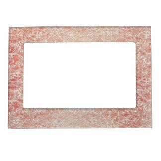 Vintage French Regency Lace Etched Wedding Magnetic Frame