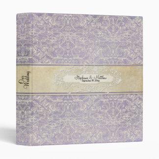 Vintage French Regency Lace Photo Binder Wedding