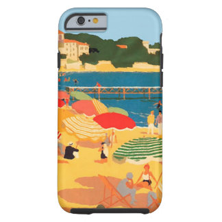 Vintage French Riviera Beach iPhone 6 Case