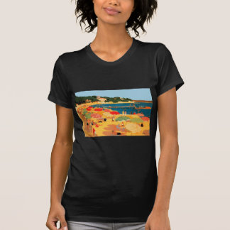 Vintage French Riviera Beach T-Shirt