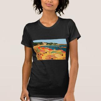 Vintage French Riviera Beach T-Shirt