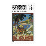 Vintage French Riviera, France - Postage