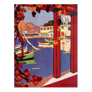 Vintage French Riviera, France - Post Cards