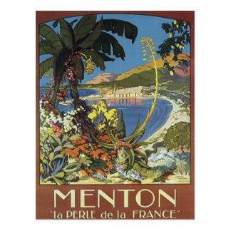 Vintage French Riviera, France - Postcard