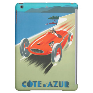 Vintage French Riviera Race Car Poster iPad Mini Case For iPad Air