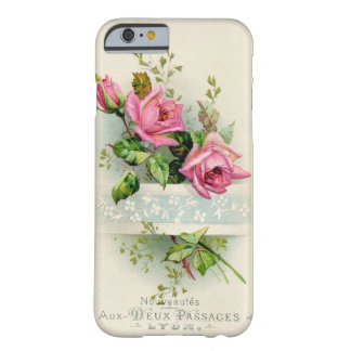 Vintage French Rose Barely There iPhone 6 Case