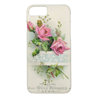 Vintage French Rose iPhone 8/7 Case