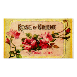 Vintage French Roses Business Card