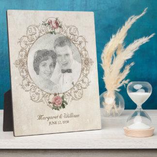 Vintage French Roses Photo Frame