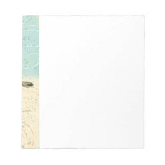 Vintage French Sand Piper Notepad