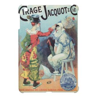 Vintage French shoe polish ad, clowns iPad Mini Cover