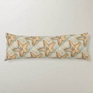 Vintage French Starfish Art Body Pillow