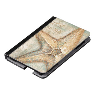 Vintage French Starfish Art Kindle Case