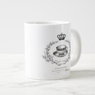 Vintage French teacup mug