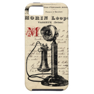 Vintage French Telephone iPhone Case