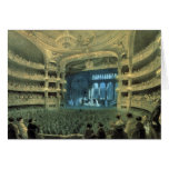 VINTAGE FRENCH  THATRE,  PELETIER THEATRE STAGE CARD