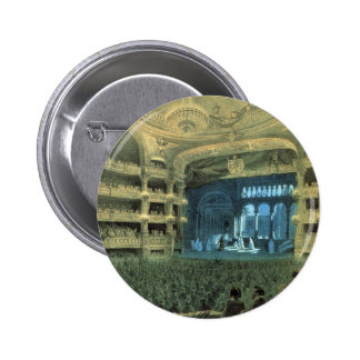 VINTAGE FRENCH THEATRE, OLD FRENCH THEATRE OPERA PINBACK BUTTON