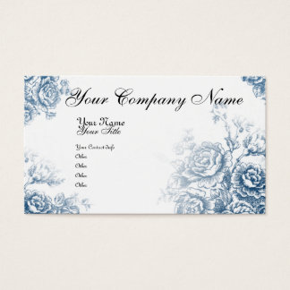 Vintage French Toile Business Card