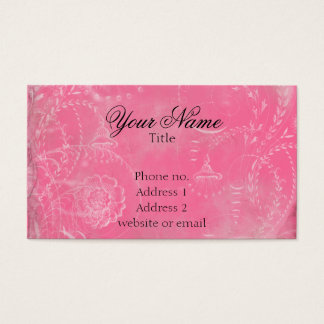 Vintage French Toile Custom Colors Business Card