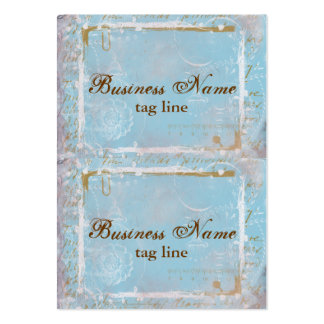 Vintage French Toile Elegant Mini Card Tags 2 Large Business Cards (Pack Of 100)