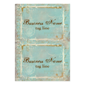 Vintage French Toile Elegant Mini Card Tags Business Cards