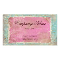 Vintage French Toile & Script No.1 Standard Business Card