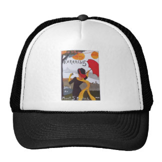 Vintage French Travel Ad 1910 Trucker Hat