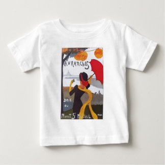 Vintage French Travel Ad 1910 Infant T-shirt