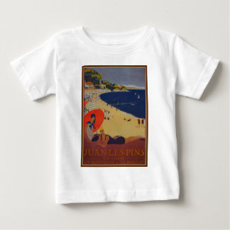 Vintage French Travel Advertisement Baby T-Shirt