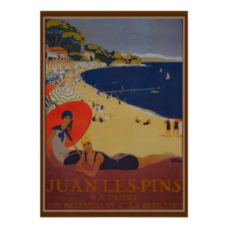 Vintage French Travel Advertisement Poster