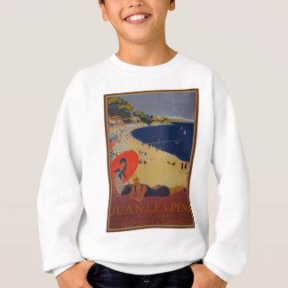 Vintage French Travel Advertisement Sweatshirt