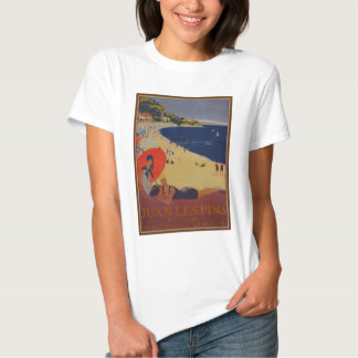 Vintage French Travel Advertisement Tee Shirt
