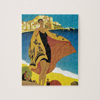 Vintage French Travel Jigsaw Puzzles