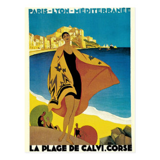 Vintage French Travel Postcard