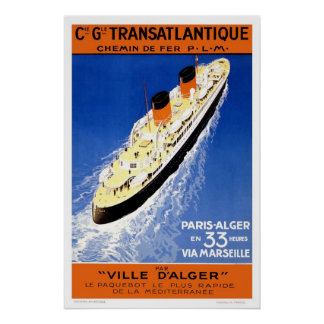Vintage French Travel Poster