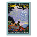 Vintage French Travel Poster Art